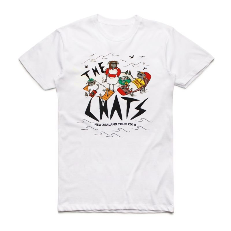 Lambs White Tshirt New Zealand Tour (Limited)