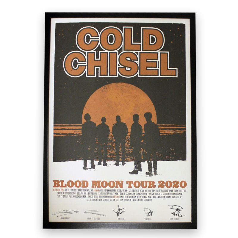 Blood Moon 2020 Signed/Framed Lithograph (Limited Edition)