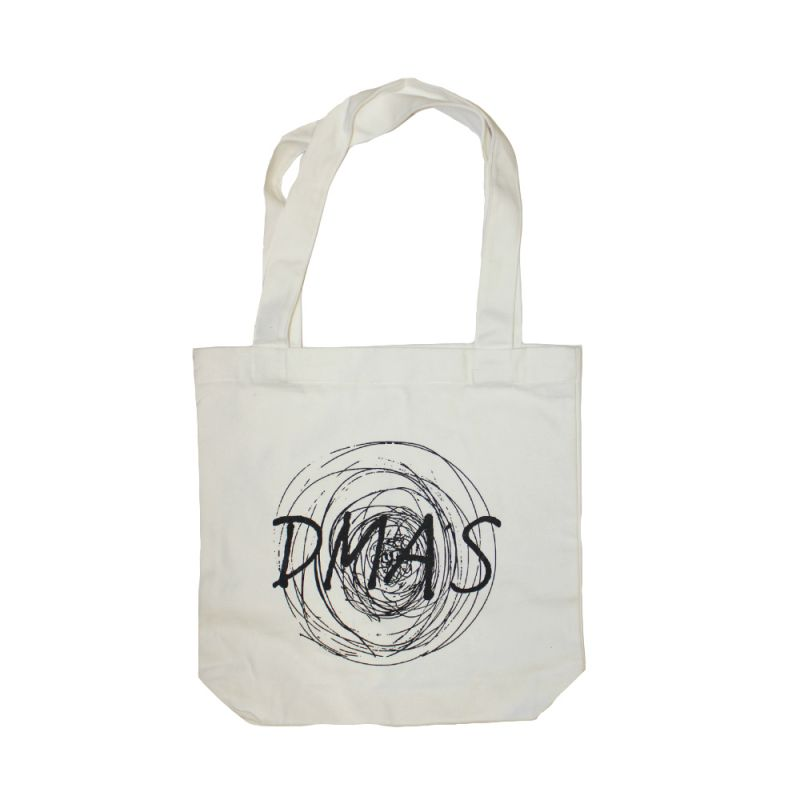 Tote Bag Natural Circle Logo
