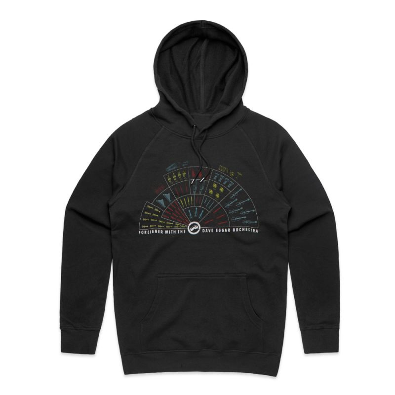Orchestral Tour Black Pullover Hoody