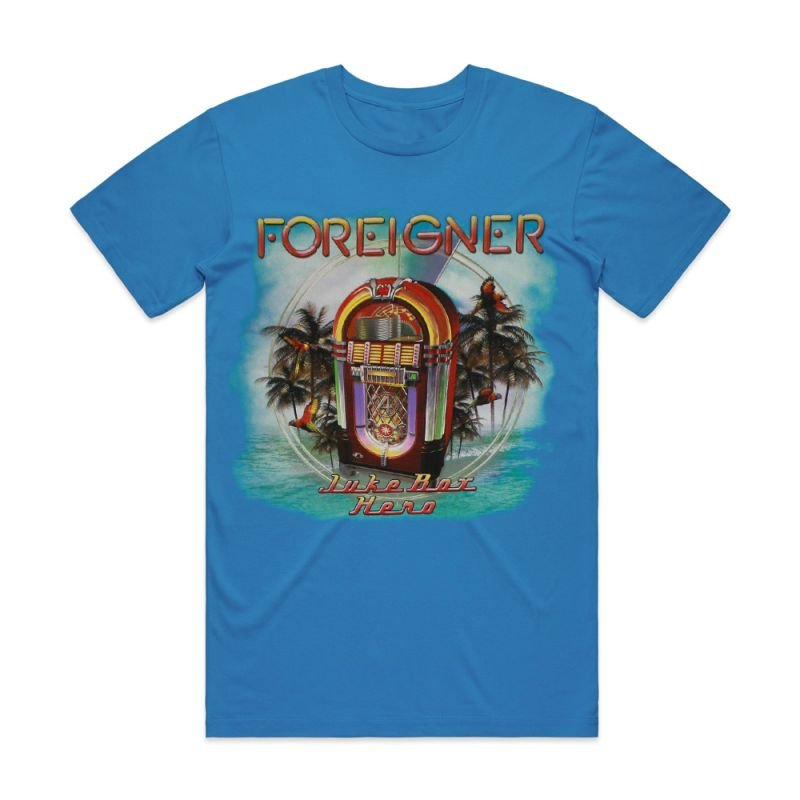 Rock The Boat Juke Box Hero Blue Shirt