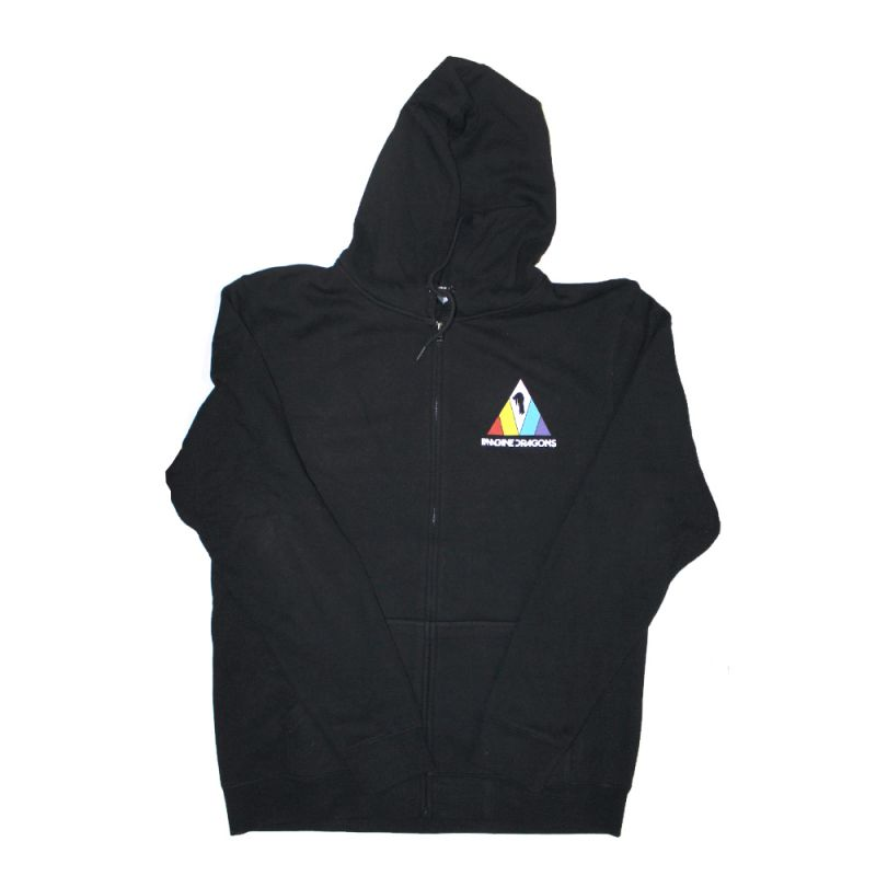 Evolve Black Zip Hoody