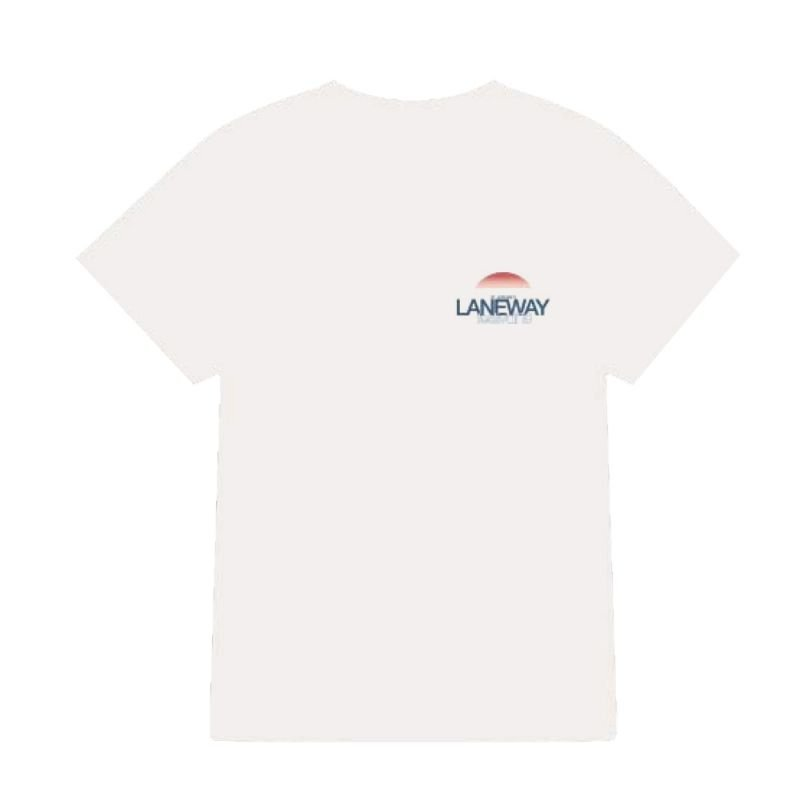 Red Sun White Tshirt