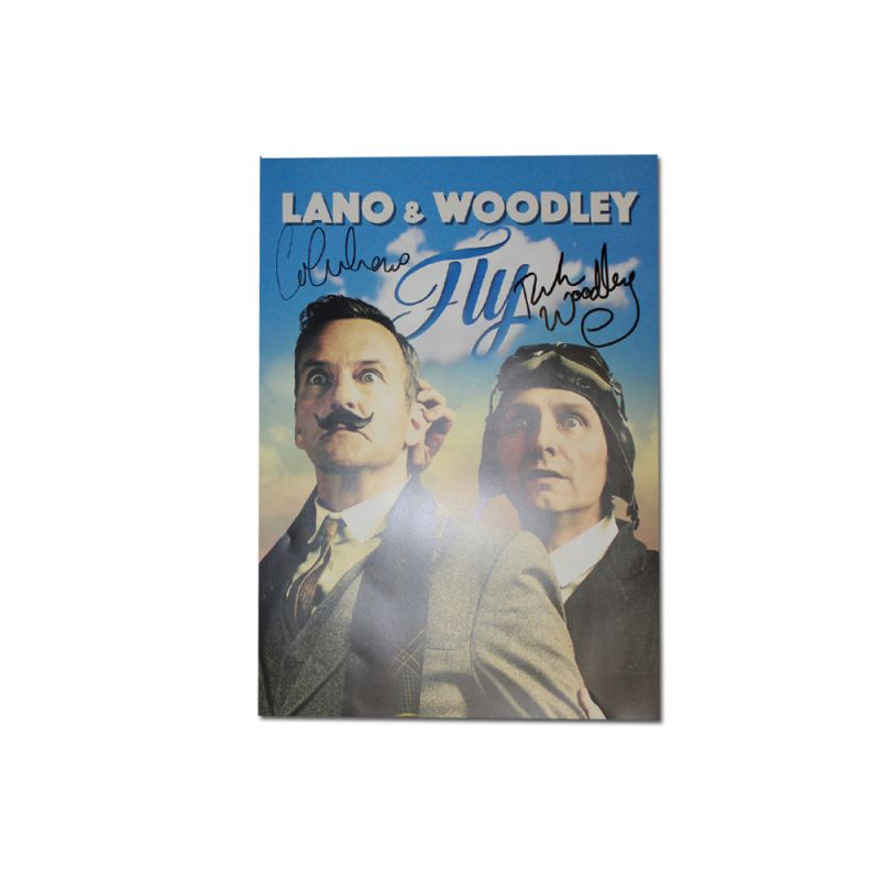 """Lano & Woodley FLY"" Signed Poster (Limited)"
