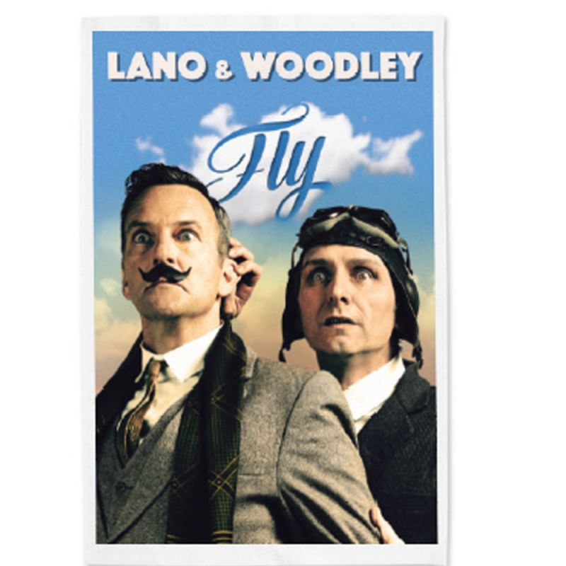 """Lano & Woodley FLY"" Poster Art Tea Towel (Limited)"