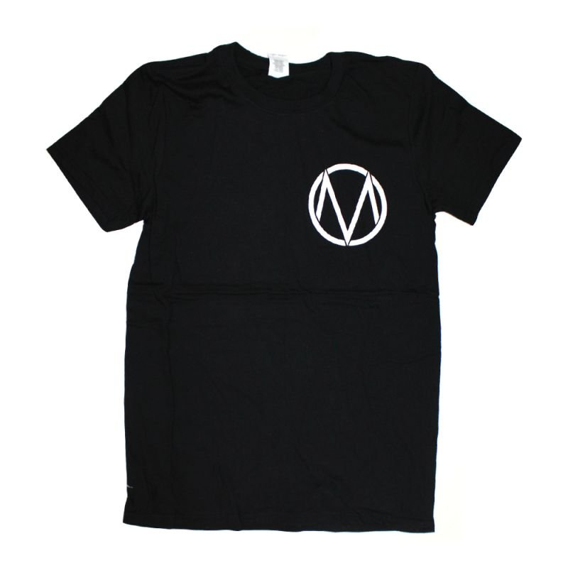 Pocket Logo/Letters Black Tshirt