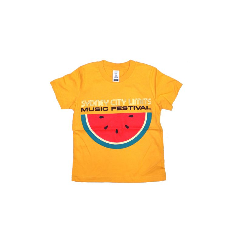 Kids Watermelon Gold Tshirt 2018 Event