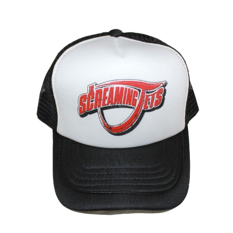 Trucker Cap with Red Logo