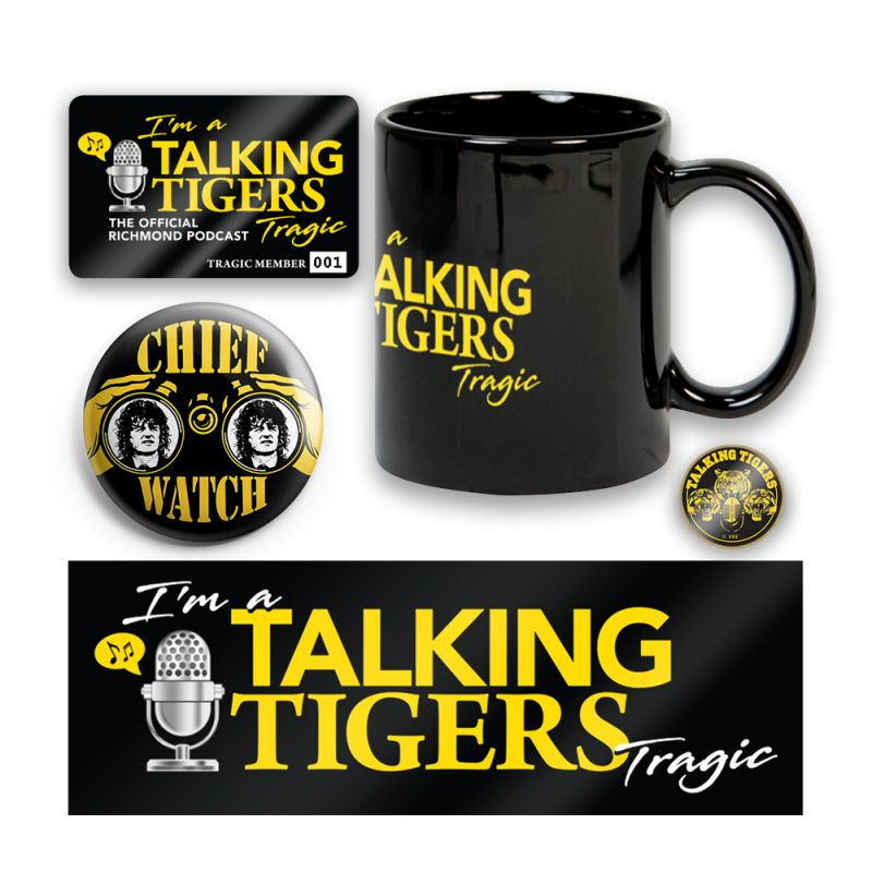 Talking Tragic Club Membership Bundle Pack ( 1 Per Member)