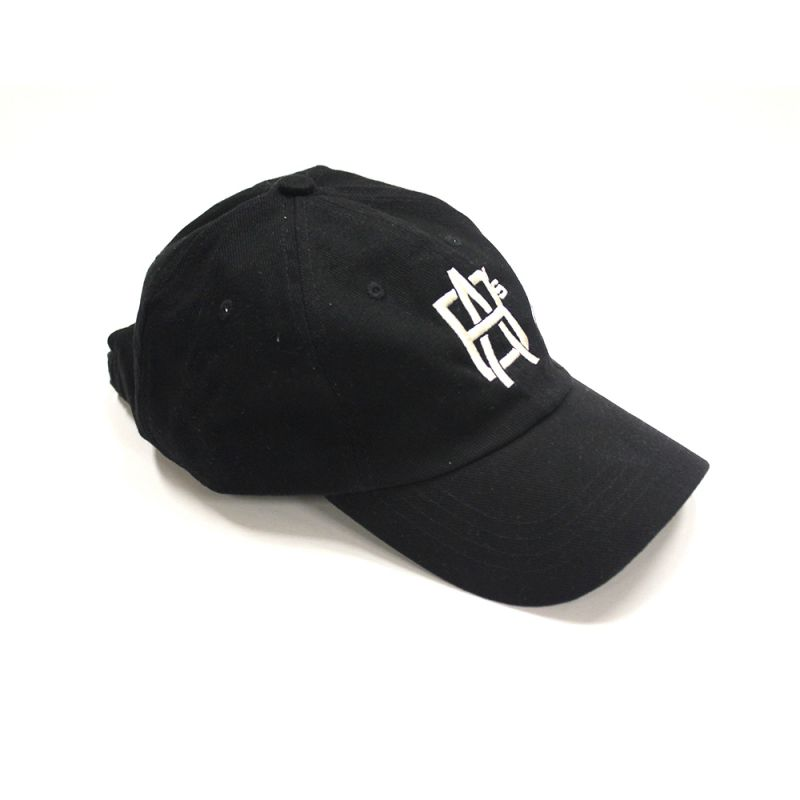 Embroidered Black Hat