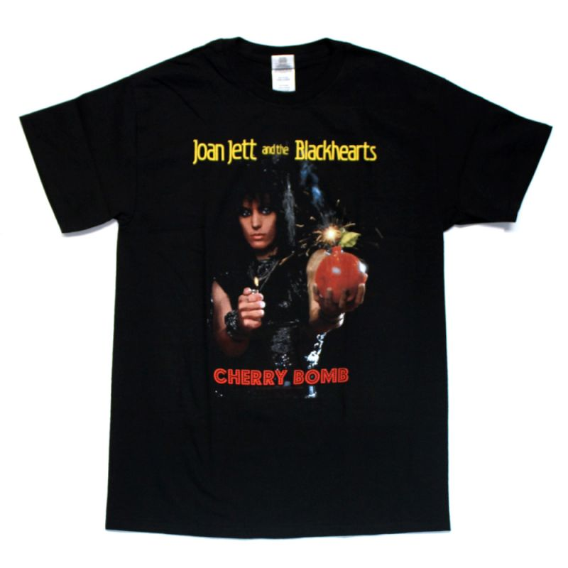 Cherry Bomb Black Tshirt