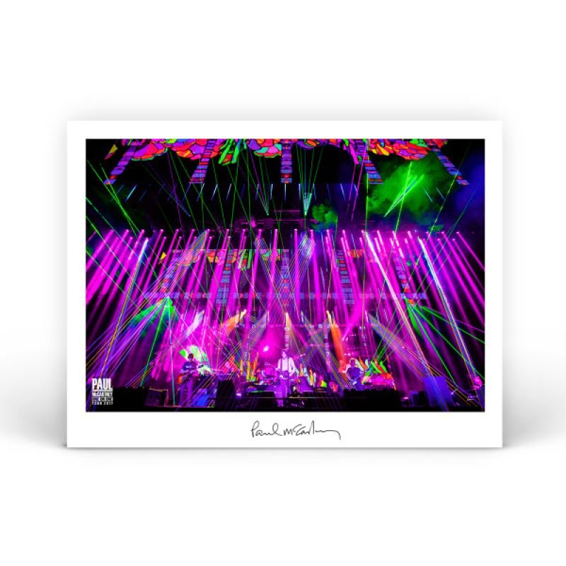 Bright Lights Lithograph One On One World Tour 2017