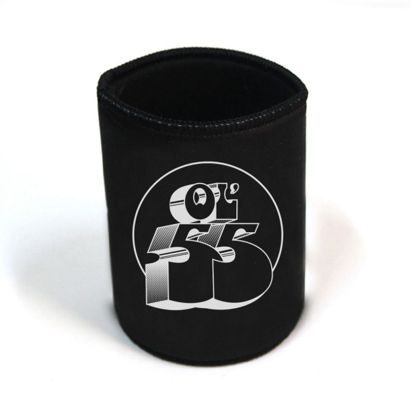 Classic Logo Black Stubby/Can Cooler