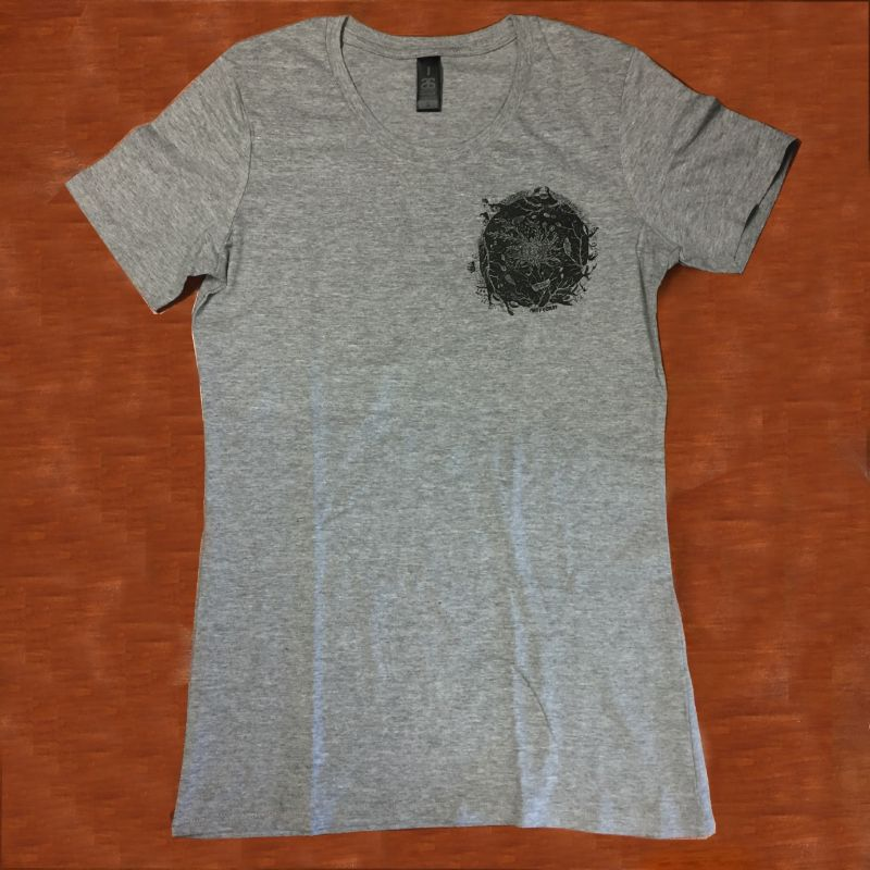 Telluric Pocket Grey Tshirt